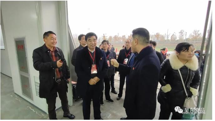 县政协调研组一行走进昊东食品开展灾后重建调研