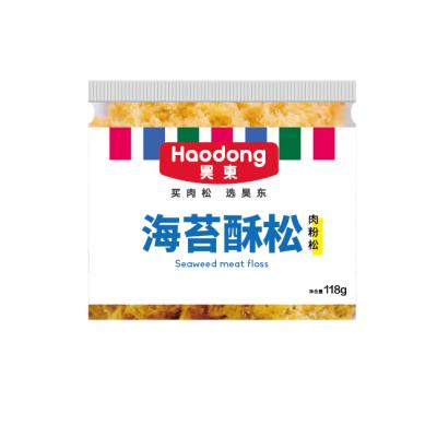罐装海苔酥松
